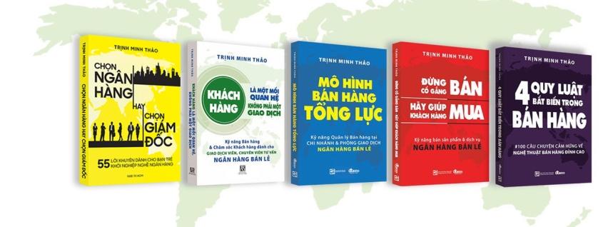 Sách đã phát hành của tác giả TRỊNH MINH THẢO
